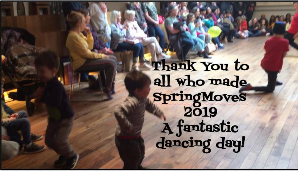Thanks to everyone! From SpringMoves Dance Festival